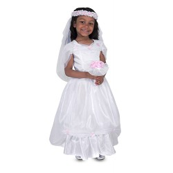 Disfraz de novia de Melissa and Doug