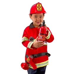 Disfraz bombero de Melissa and Doug