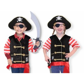 Disfraz de pirata de Melissa and Doug