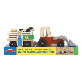 Tractor de granja de Melissa and Doug