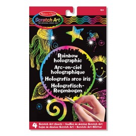 Scratch Art Rainbow holographic  de Melissa and Doug