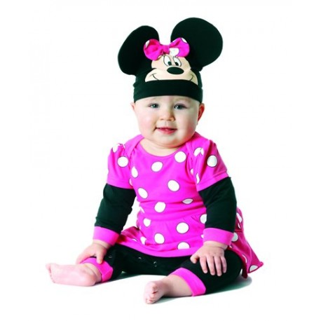 Pijama bebé de Minnie Mouse