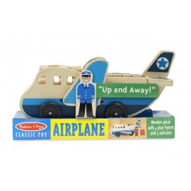 Avión de madera de Melissa and Doug