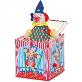 Clown jack in the box