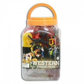 Bote Western collection (figuras del oeste)