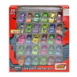 Set surtido de 30 coches CV