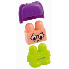 Super blocks 32 pcs personajes de Miniland