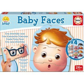 Baby faces de Educa
