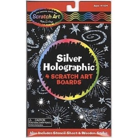 Scratch art Silver holographic de Melissa and Doug