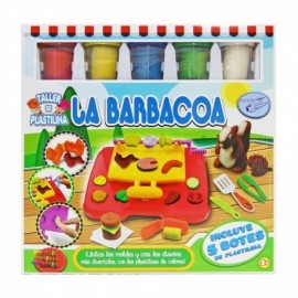 Set plastilina Barbacoa