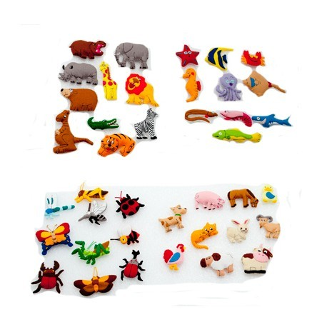 Pack animales 40 pcs