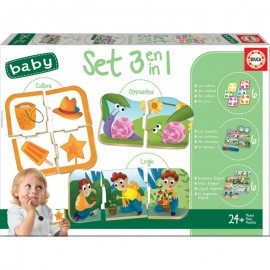 Set Baby Educativos 3 en 1 de Educa