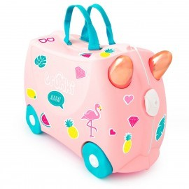 Trunki maleta Flossi flamingo